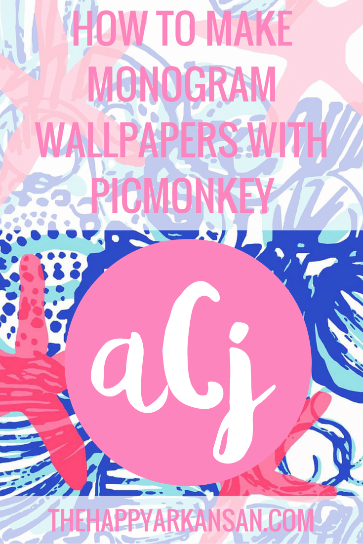 I Am Going To Show You How Make Monograms From Start Finish On PicMonkey My Favorite Image Editing Website