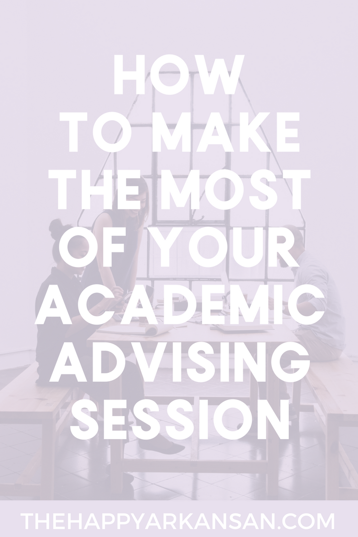 How To Make The Most Of Your Academic Advising Session | Do you have an academic advising session coming up? Take some tips from an actual academic advisor and learn what you should and should not be expecting from your advisor as well as how to have an effective advising meeting.
