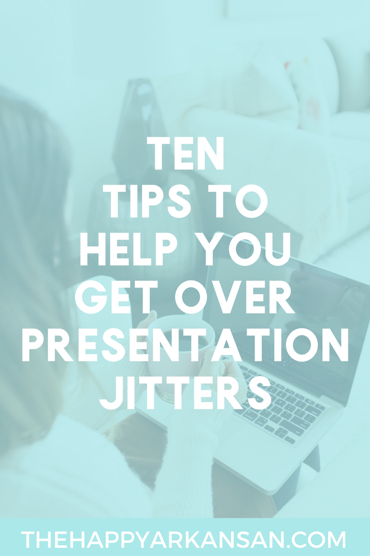 How To Get Over Presentation Jitters | Check out these 10 great tips for getting over your presentation jitters so you can rock your next speech whether you are speaking for 5 minutes or 60, and whether it's a general education course or a major one.