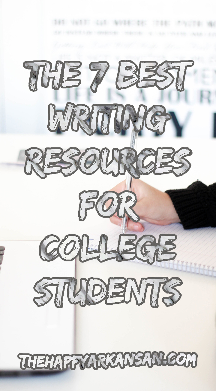 The 7 Best Writing Resources For College Students | Writing is an important skill to master in college. Learn about 7 great resources for writing in college by clicking through to read this blog post. #Writing #WritingAdvice #CollegeAdvice