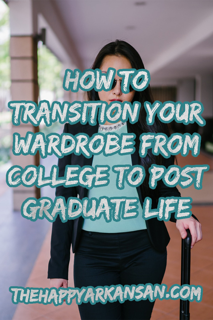 How To Transition Your Wardrobe From College To Post-Grad Life | Graduation is quickly approaching. Transitioning your wardrobe to post-grad life is a vital part of finding a good job because you want to dress for the job you want. Click through for seven great tips to help you transition your wardrobe today.