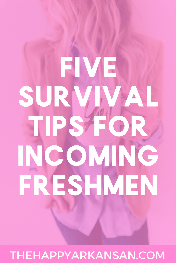 5 Survival Tips For Incoming Freshmen | Being a freshman is difficult, Happy Contributor Motunde shares her best tips for making sure that your freshman experience is amazing by sharing her five best survival tips on the blog today.