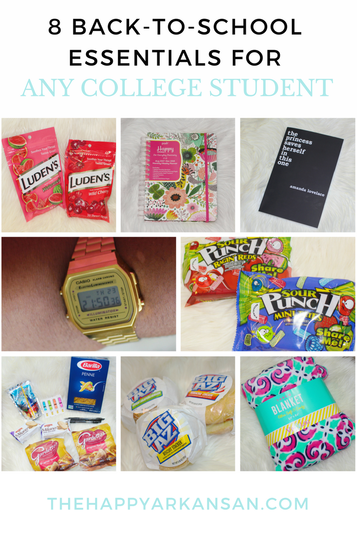 8 Back-To-School Essentials For Any College Student | Are you ready to go back-to-school? Don't head back to college before reading this blog post featuring some awesome essentials to get you back in the college mood.