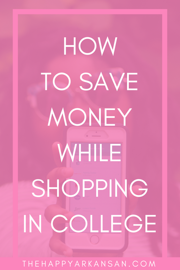 How To Save Money While Shopping | AD: In this partnership with Hopster Mobile Rebates click through to learn how to save money while shopping in college, pick up your free printable shopping list, and learn more about the free, Hopster app. #SaveWithHopster