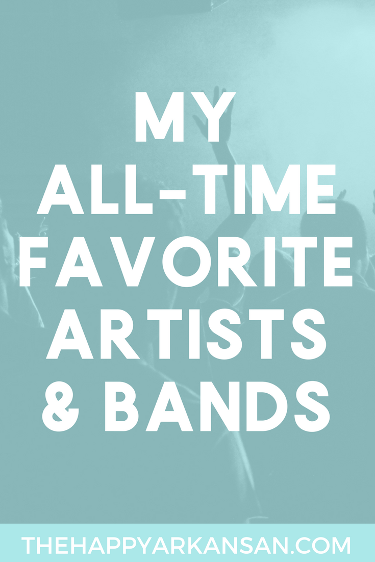 My All-Time Favorite Artists And Bands | Need some music recommendations? I have you covered! Check out out my blog featuring 15 of my all-time favorite artists and bands for some awesome music recommendations.