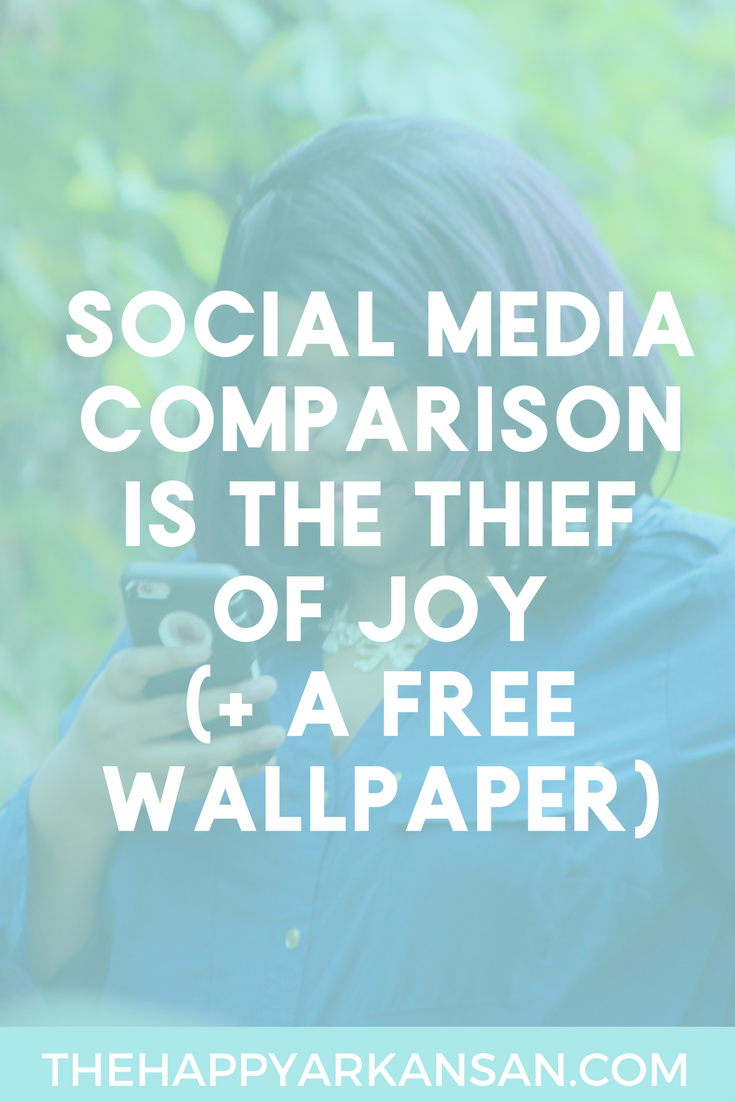Comparison Is The Thief Of Joy | Have you ever been scrolling endlessly down someone's perfectly curated Instagram feed and then you feel inadequate? So much of what you see online is curated, and it doesn't show the entire picture. Click through to continue the conversation #selflove #selfimprovement #socialmedia