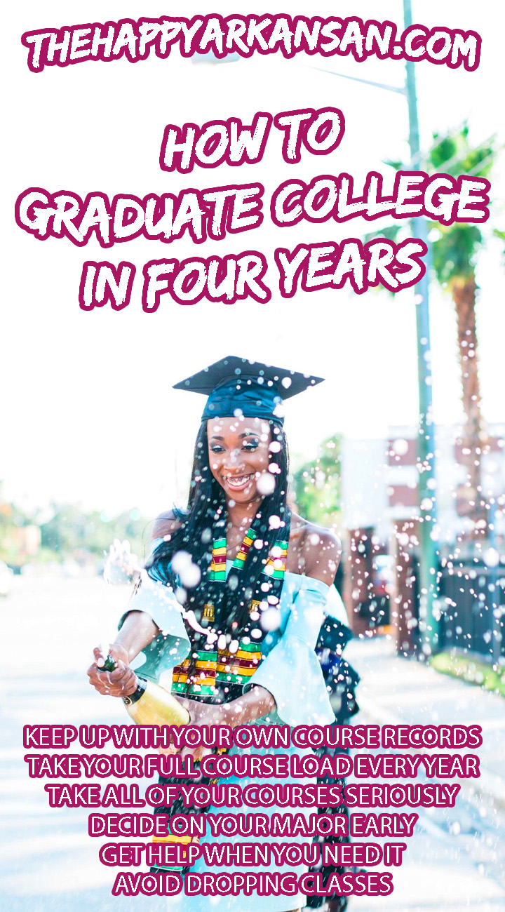 How To Graduate College In Four Years | Graduation is one of the proudest moments ever, but how do you do so in an economical way? So many people seem to be graduating in five or six years now, but there is a way to stop that. Today on the blog I am sharing my best tips for graduating college in four years.