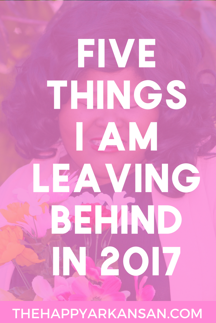 Five Things I Am Leaving Behind In 2017 | Inspired by a video by John Green on the Vlogbrothers channel, I decided to share five things I am leaving behind in 2017 so I can kick of 2018 with a bang. What will you leave behind?