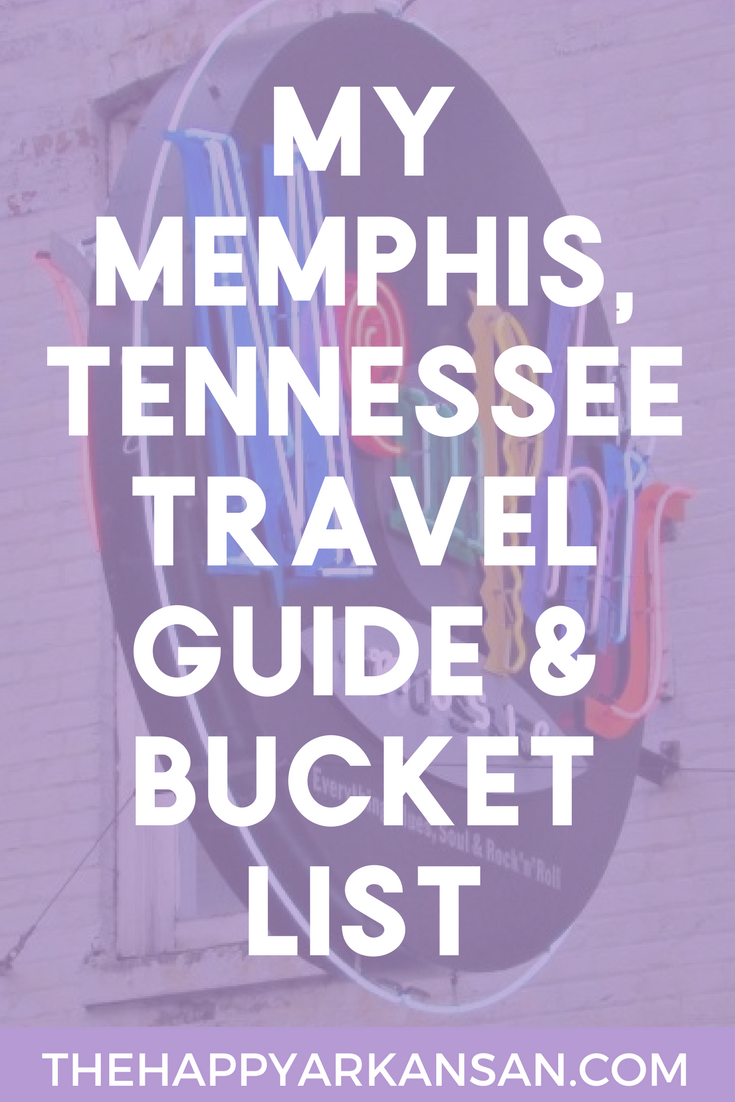 My Memphis, Tennessee Travel Guide & Bucket List | Ever thought about what you would do when you finally made it to #MemphisTennessee? Well, wonder no more! Today on the blog I am sharing my Memphis travel guide and bucket list with y'all so you know exactly where to go next time you are in Memphis.