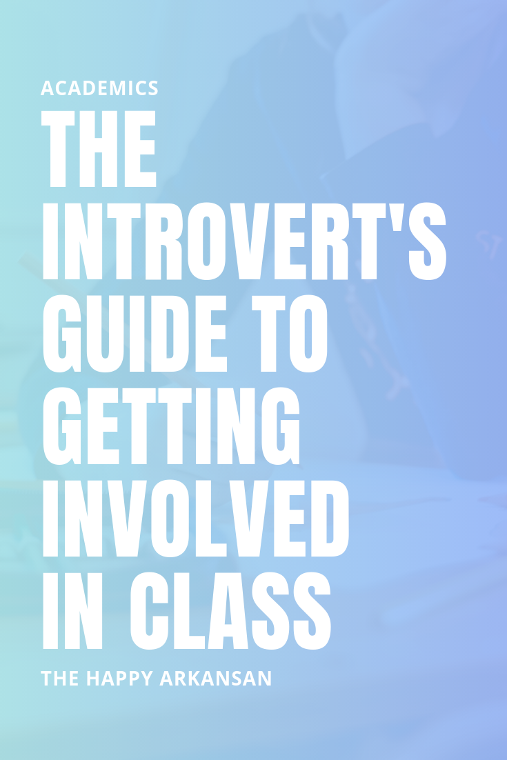 The Introvert's Guide To Getting Involved In Class | Click through for eight tips that will help you shake your introverted tendencies so you can stop missing out on class participation points. Become an academic extrovert with these 8 tips.