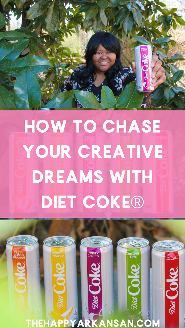 AD: How To Chase Your Creative Dreams With Diet Coke | You were meant to chase your creative dreams and break from the ordinary, but how do you do that with a 9-5 job or while you are in college? Today with the help of Diet Coke (now available in sleek 12 oz cans and new flavors at @Walmart) we are going to learn how to live our creative dreams right now. #BreakFromOrdinary #DietCoke #CollectiveBias