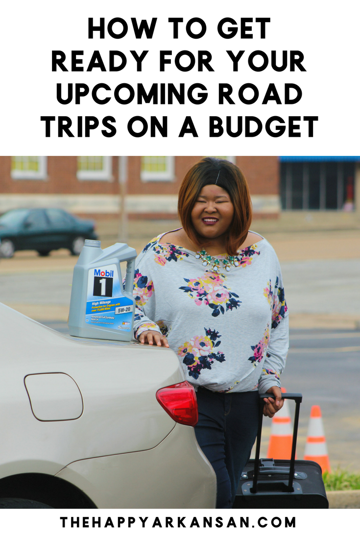 How To Get Ready For A Road Trip On A Budget | It's road trip season! Join me as I talk about how to prepare for a road trip on a budget as well as what ExxonMobil Mobil 1 oil can do for your car. #EarthDayDriveAway #CollectiveBias