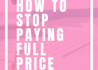 How To Stop Paying Full Price Without Spending All Your Time Researching | Tired of spending all of your time clipping coupons when you are trying to save money? Check out my post all about how to stop paying full price without spending all your time researching. I am rounding up 10 of my favorite resources that will help you save money without the hassle. Save money on food, entertainment, travel, and more. #PersonalFinance #Saving #SaveMoney