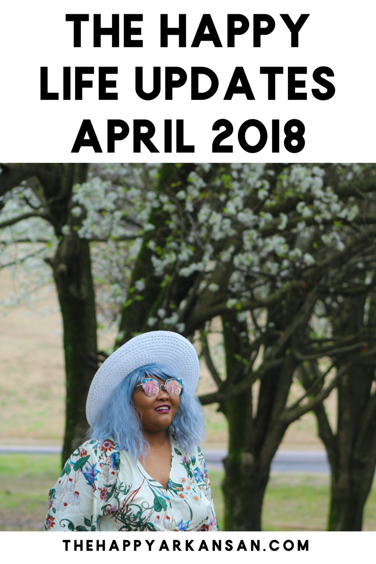 The Happy Life Updates April 2018 | Do you want to get up to date with what's happening over in my neck of the woods? Check out my latest installment of The Happy Life Updates to see what in the world I have been up to and why I haven't been posting as much lately.