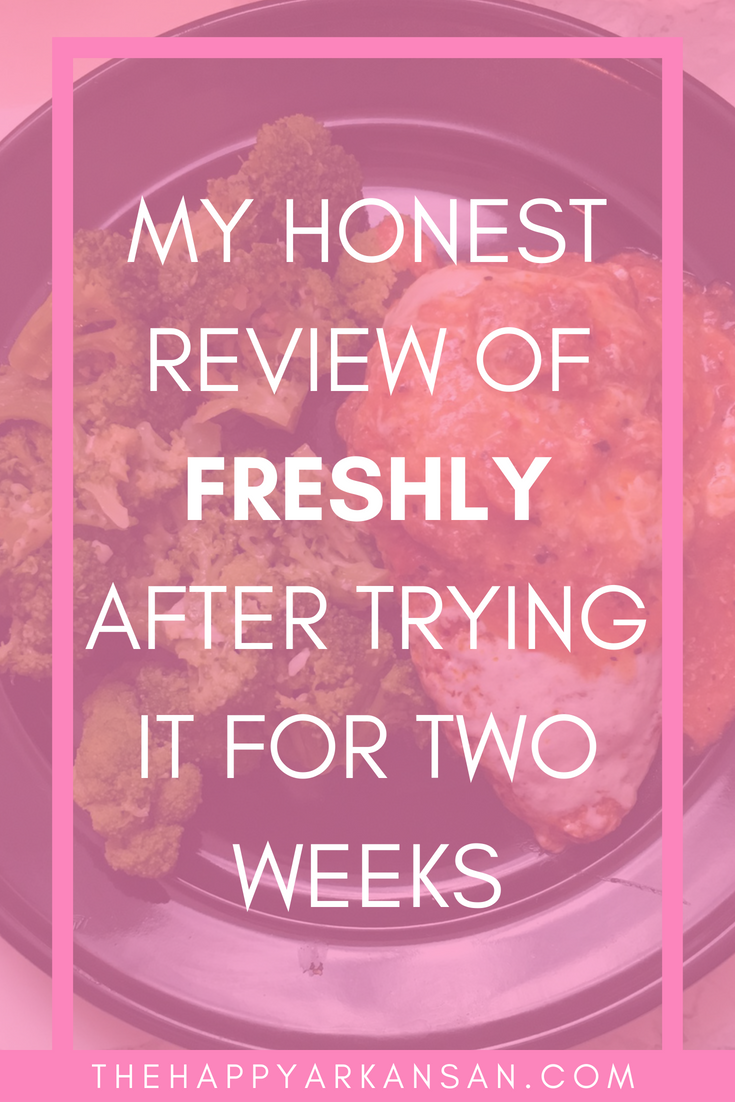 I Tried Freshly For Two Weeks: This Is My Honest Review | There are so many food subscription services out there that claim to make your life easier. Today on The Happy Arkansan, I am doing a deep dive into the service Freshly for my readers to learn more about the meal subscription service with the three minute microwavable meals.