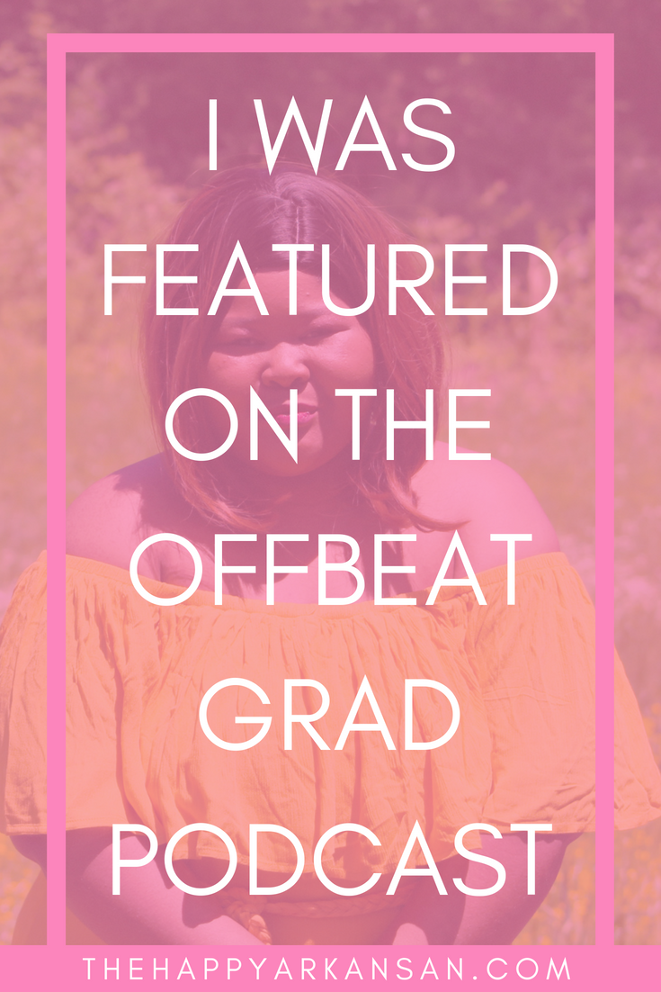 I Was Featured On The Offbeat Grad Podcast! | I was recently featured on Sam of Samanthability's new podcast Offbeat Grad. I wanted to share the interview that I did with her, with you! So click through to check it out! #Podcast #FreelanceWriting #Blogging