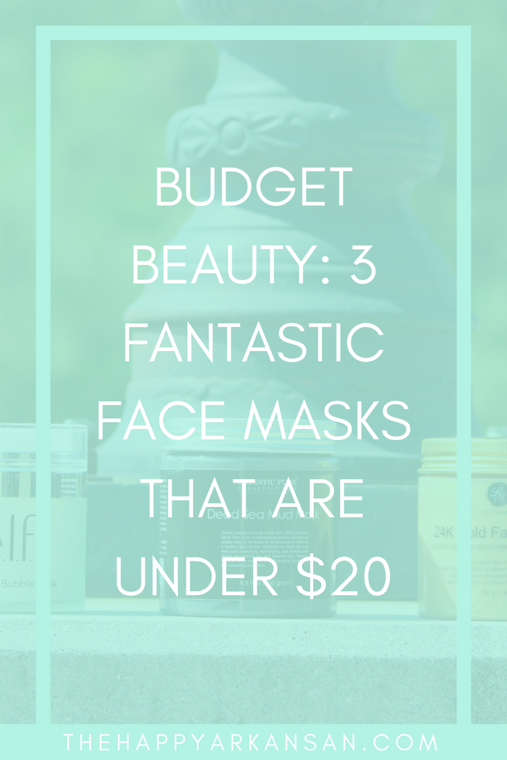 Budget Beauty: 3 Fantastic Face Masks That Are Under $20 | Let's get budget friendly with three fantastic face masks that are all under $20. #Beauty #BeautyBlogger #FaceMasks