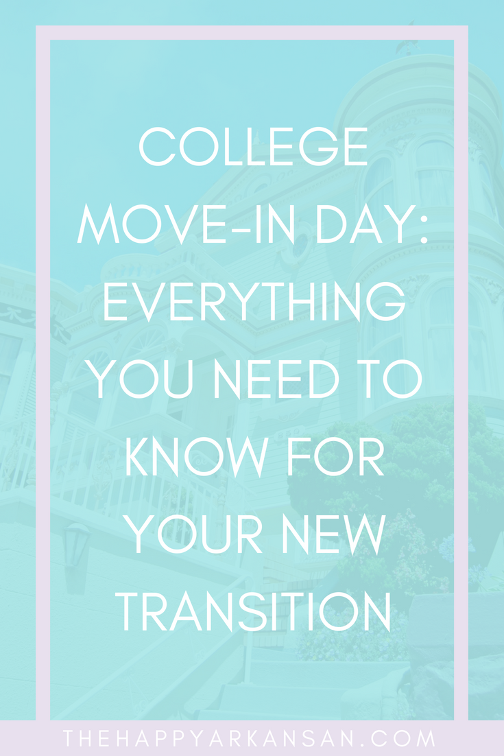 College Move-In Day: Everything You Need To Know For Your New Transition | Are you ready to move into your new college home? College move-in day can be stressful, but I have tons of tips to help make the process a breeze from start to finish. #CollegeMoveInDay #CollegeAdvice #FreshmanAdvice