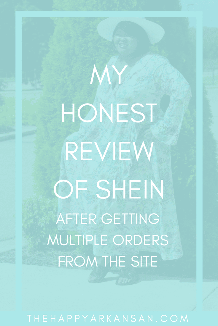 My Honest Review Of SheIn After Getting Multiple Orders From The Site | Have you ever thought about making an order on SheIn, but you were unsure of it all? Check out my honest review of SheIn for my perspective on everything from sizing to the ethics of shopping on the site. #Fashion #FashionBlogger #SheIn