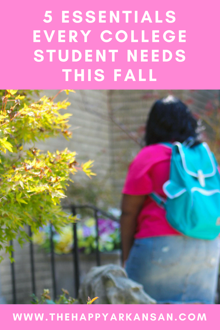 AD; 5 Essentials Every College Student Needs This Fall | Today on the blog I am sharing what was in my Fall InfluenceHer Collective box. All these goodies are essential for college students, so don't hesitate to get these items for yourself.