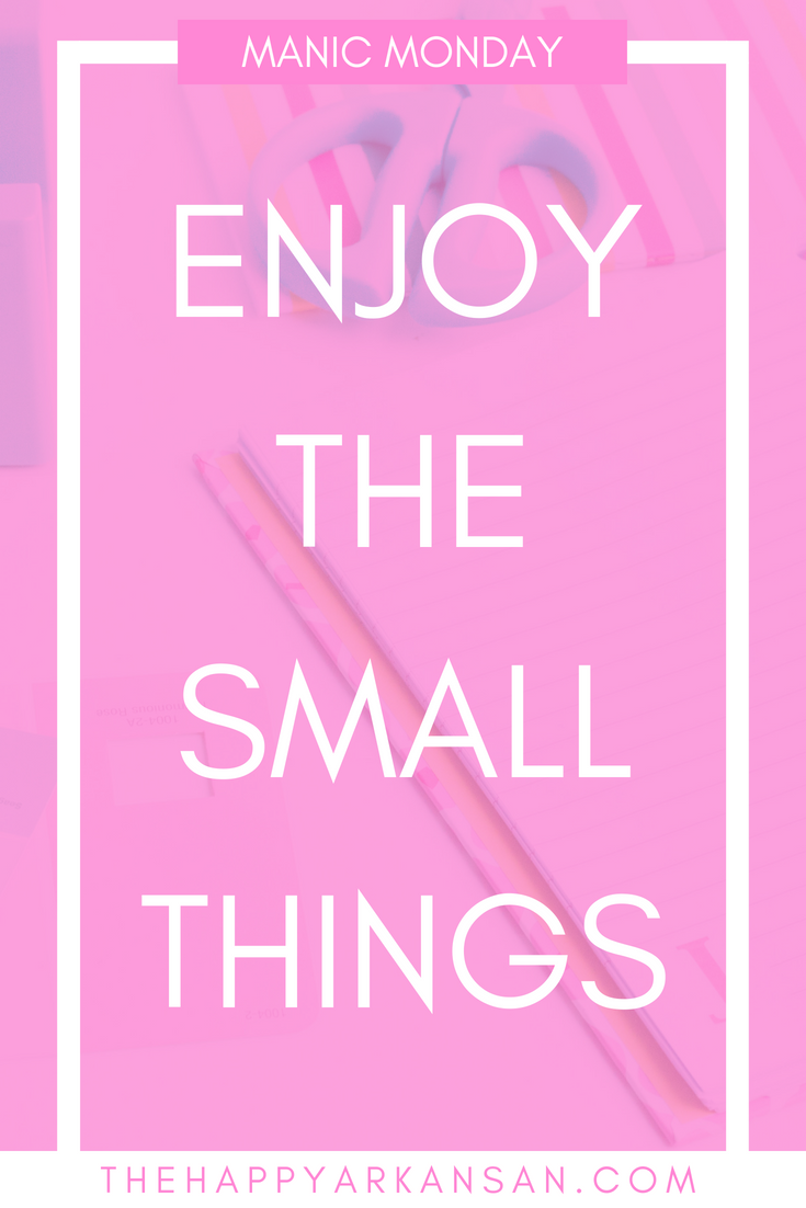 Manic Monday: Enjoy The Small Things   Today on Manic Monday we are chatting all about having gratitude as an entrepreneur. What are you grateful for? Today's post will show you why you need to have more gratitude for what the universe is sending your way.