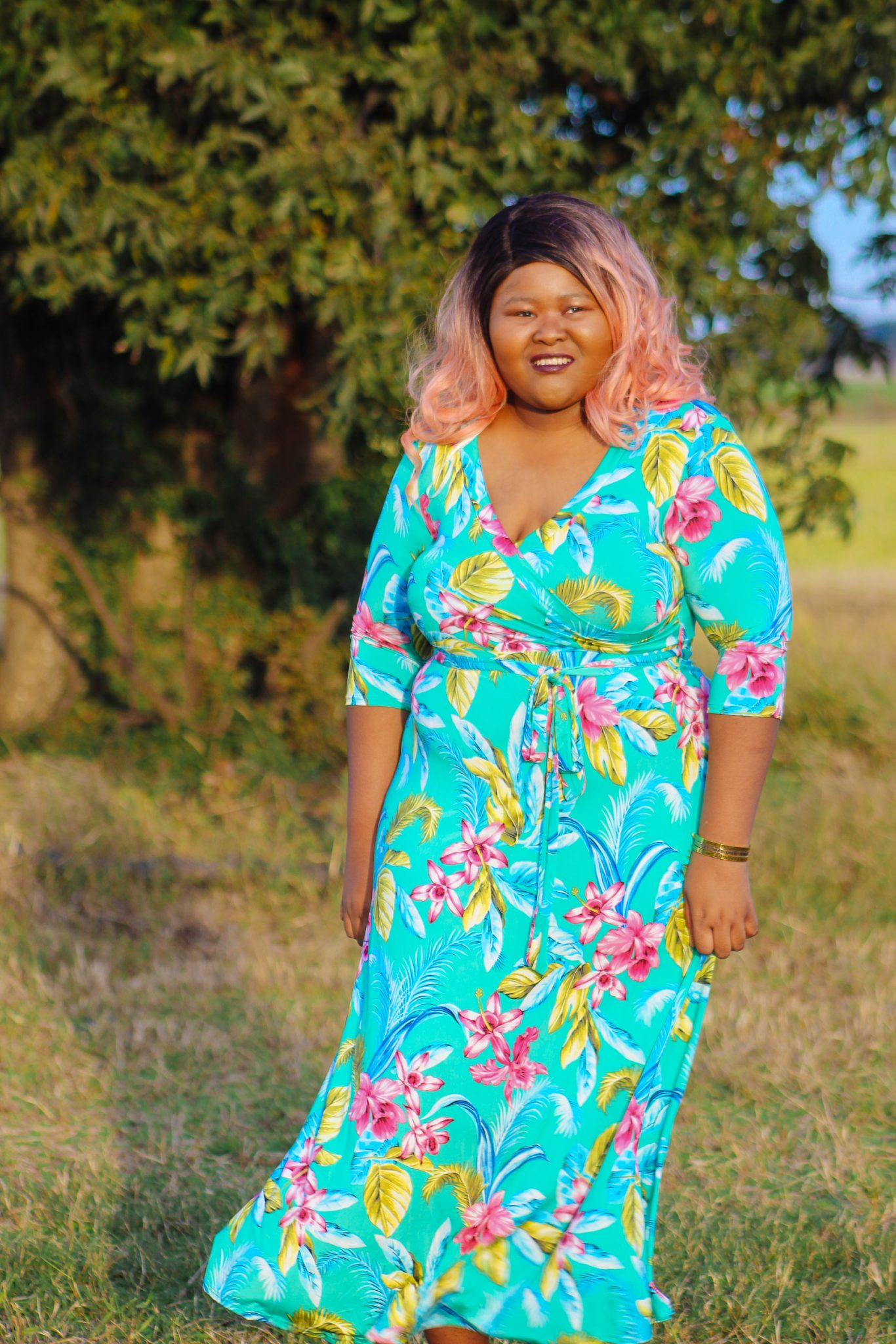 Now Listening: 100 More Fantastic Rock Songs And A Floral Outfit Of The Day | Do you like rock music and fashion? Check out my article where I list some more of my favorite rock songs while showcasing the cutest floral maxi dress I've ever seen. #FashionBlogger #StyleBlogger #CurvyBlogger #PlusSizeFashion #PlusSizeBlogger #MusicRecommendations
