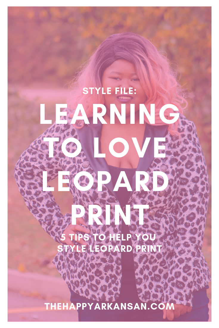Style File: Learning To Love Leopard Print | It's time to get out of your fashion comfort zone! I was always scared to rock leopard print, but recently I received a beautiful leopard print blazer courtesy of Lane Bryant that I knew I needed to style on the blog. Check out this post for the best tips on styling leopard if you are afraid of styling it like I was. #FashionBlogger #LeopardPrint #Blazer #BusinessCasual #PSBlogger #PSFashionBlogger #LaneBryant