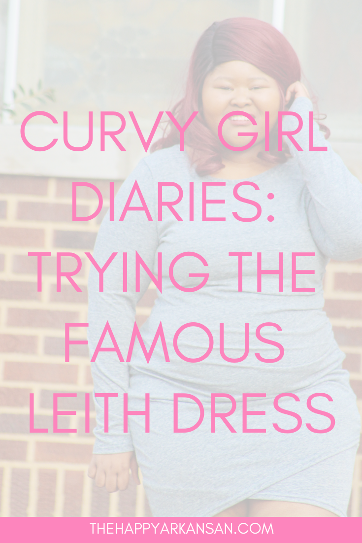 Curvy Girl Diaries: Trying The Famous Leith Dress | The Leith ruched dress has taken the internet by storm. What does it look like on a curvy body, though? I put that to the test in my latest article and first Curvy Girl Diaries piece. #FashionBlogger #PSBlogger #PlusSizeBlogger #Leith #Nordstrom