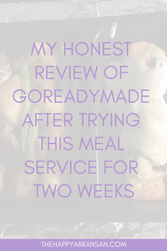 My Honest Review Of GoReadyMade After Trying This Meal Service For Two Weeks | If you have been wanting to try GoReadyMade, I tried it for you so I could give you a great review of the service. Read through my latest blog for everything you need to know about using GoReadyMade for your foodie needs! #GoReadyMade #Review #FoodDelivery