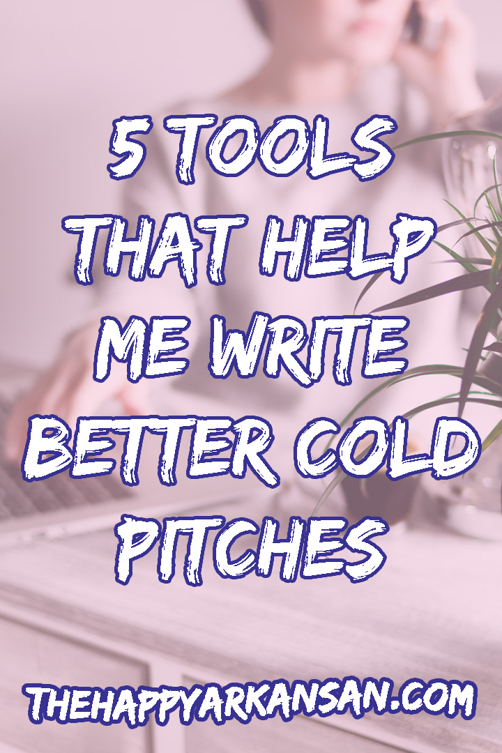 5 Tools That Help Me Write Better Cold Pitches | Do you want to start cold pitching as a freelancer? Check out my latest post that explains the five tools I use most frequently while building my freelance business. Cold pitching is not for the faint of heart, but it can grow your business and help you work with businesses you never dreamed of working with. #Freelancing #FreelanceAdvice #FreelanceTips #WorkFromHome