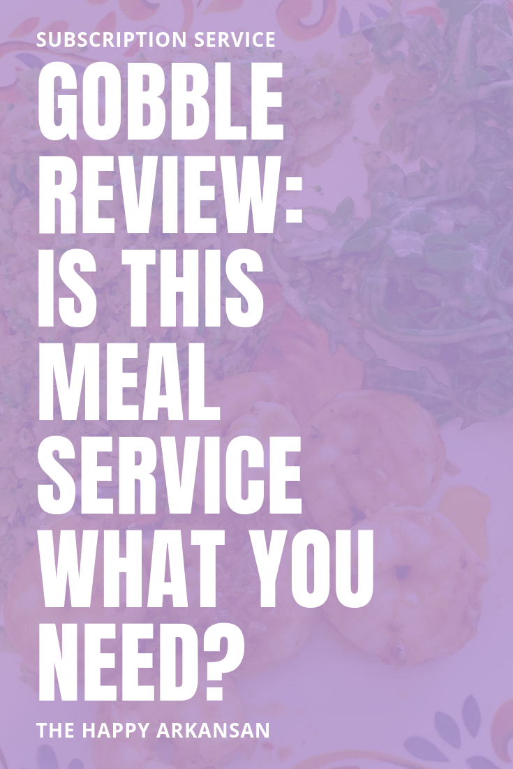 Gobble Review: Is This Meal Service What You Need? | Do you want to learn more about the meal service Gobble from someone who has tried a box on their own? Click through for my full Gobble review including the price, what I think about the food, how to skip boxes, and so much more. #MealKit #MealDelivery #MealBoxes #SubscriptionBox