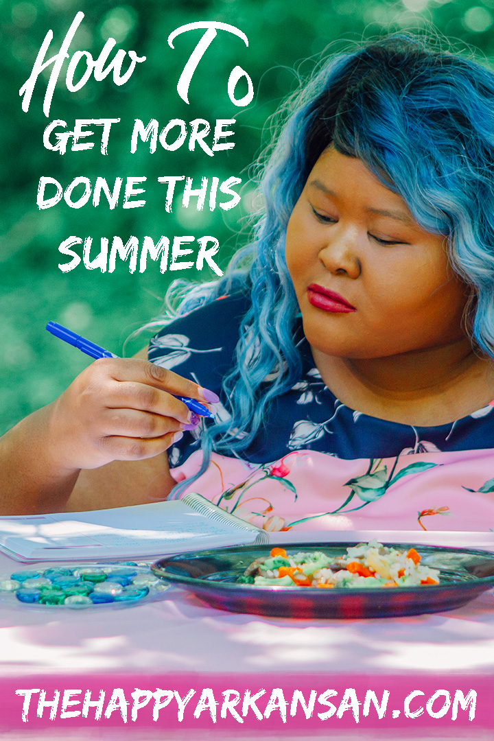 #AD: How To Get More Done This Summer | I've teamed up with my friends at Healthy Choice® to share five tips that will help you get more done this summer. Whether you are a student, living the 9-5 life, or working from home–I hope these tips help you be more productive this summer. #MyCafeSteamers #CollectiveBias #Summertime #Lifestyle #MillennialLifestyle