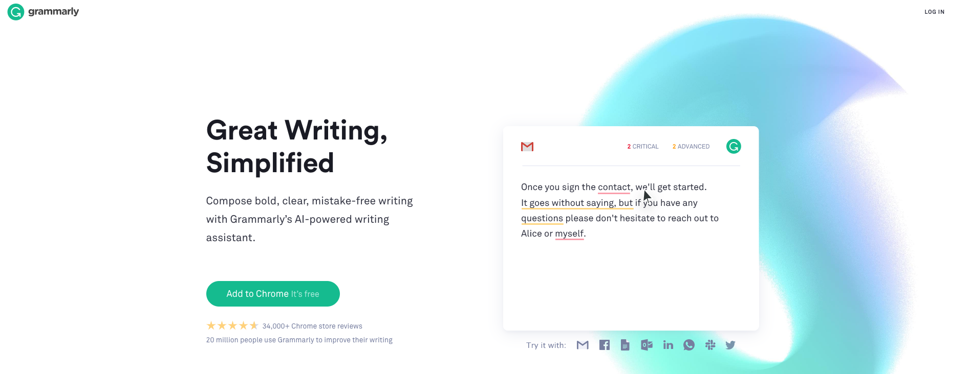Cold Pitch Tools | Grammarly