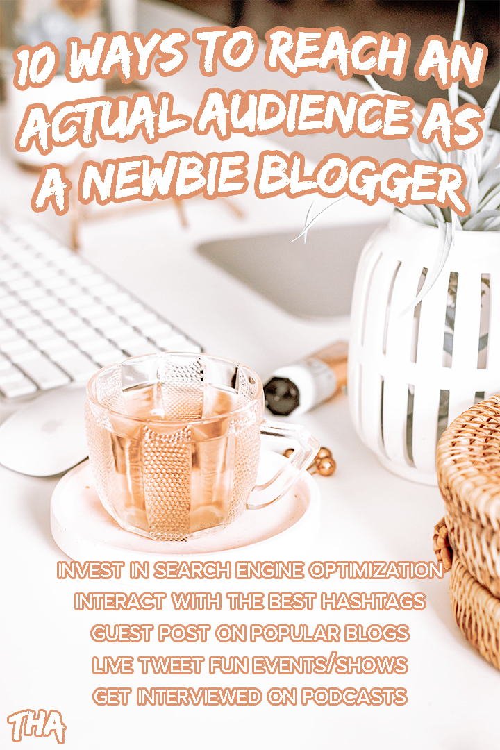 10 Ways To Reach An Actual Audience As A Newbie Blogger | Are you struggling to reach out to non-bloggers as a beginner content creator? Check out my post with all the tips and tricks you need to know to expand your reach and get your blog seen by new readers. Forget the blog reciprocation threads, and learn new ways to make a connection. #Blogging #BloggingAdvice #BlogAdvice