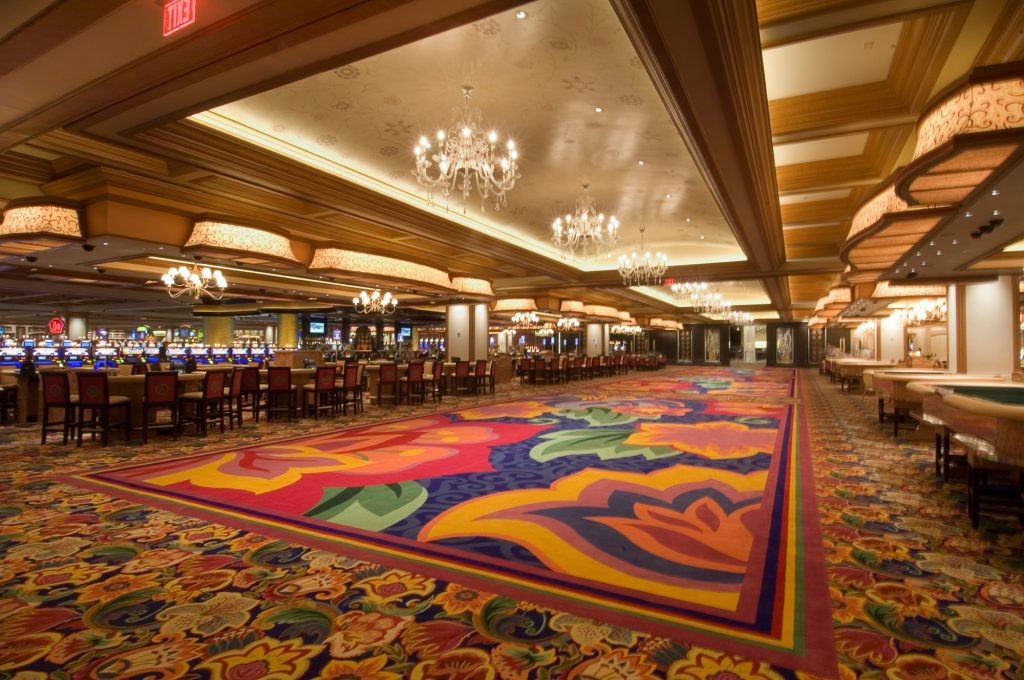The casino floor at the Beau Rivage Resort & Casino