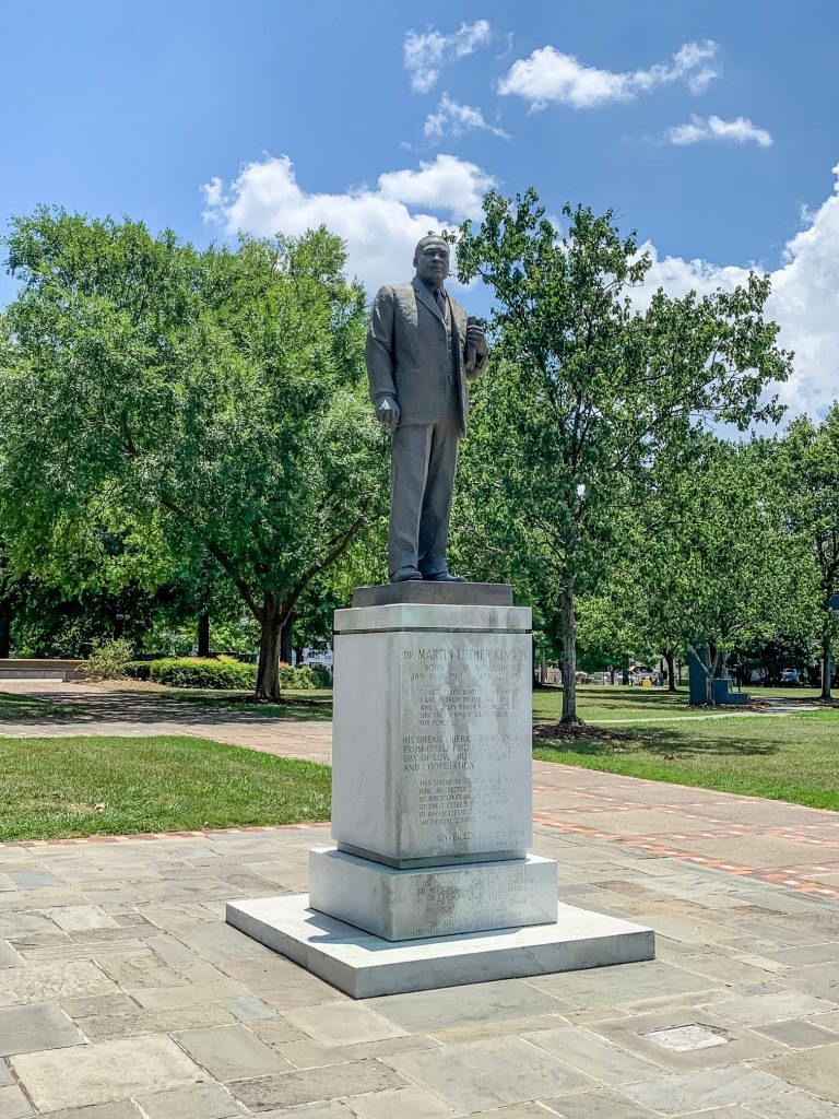 Kelly Ingram Park Dr. Martin Luther King Jr. Statue