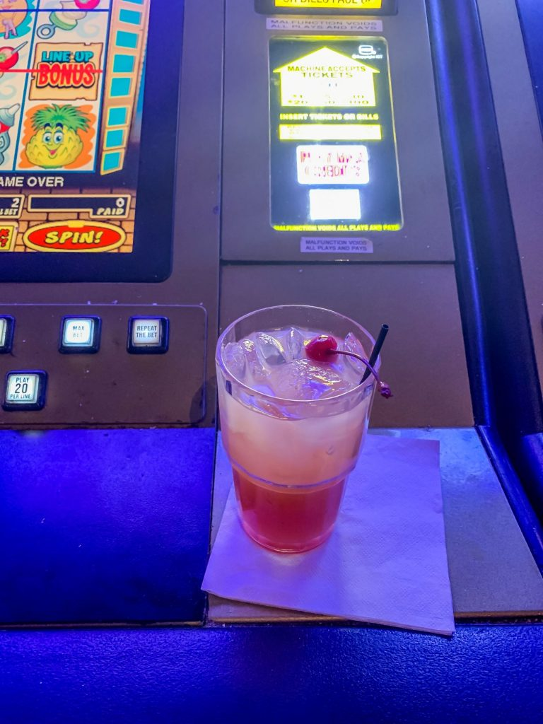 Casino drinks at Treasure Bay