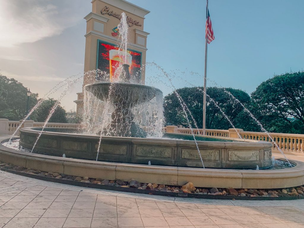 Beau Rivage fountain