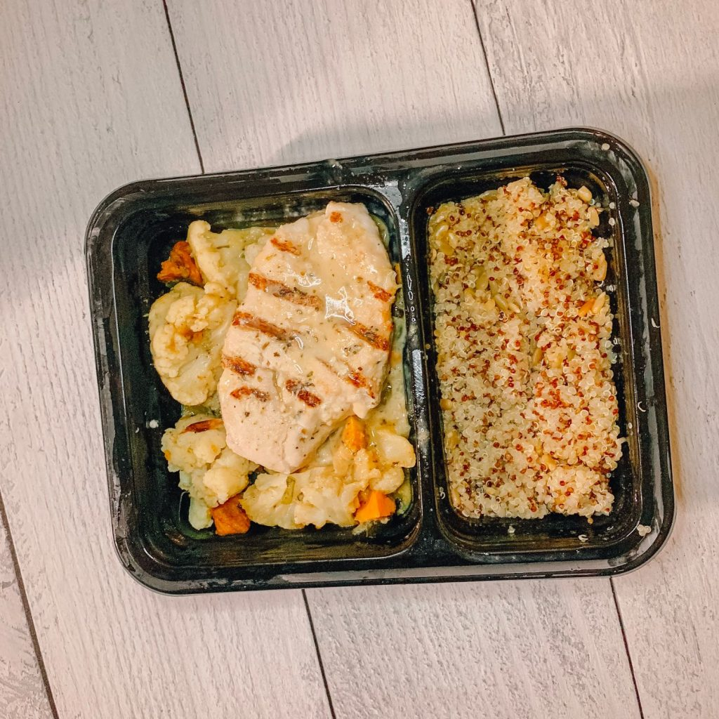Chicken And Summer Zucchini With Quinoa and Citrus Dressing From Freshly