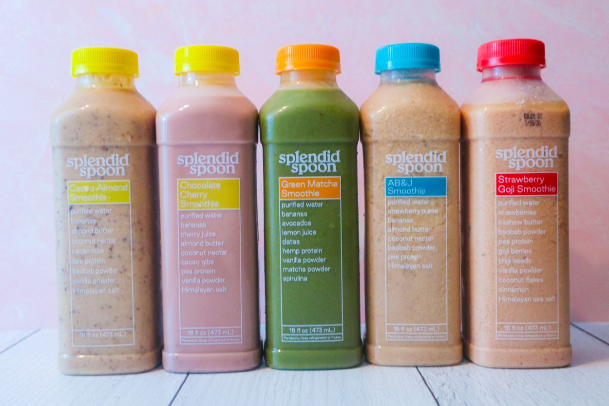 Splendid Spoon Review: Smoothie Choices