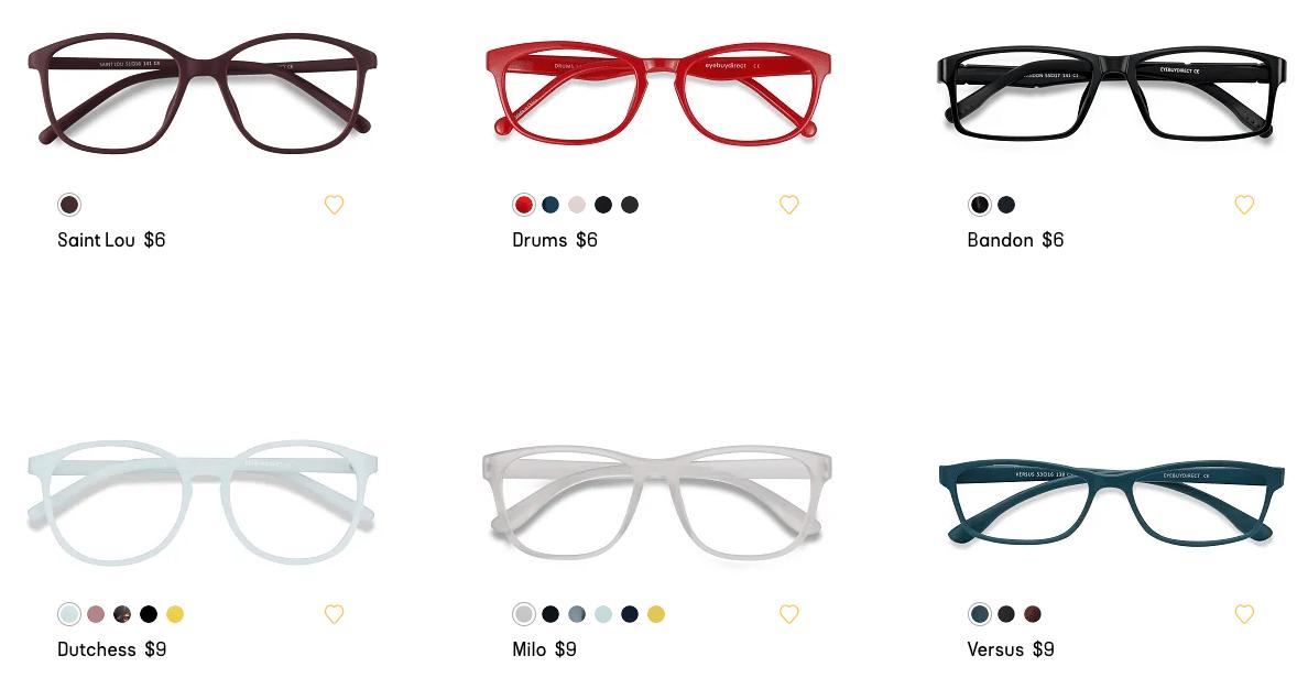 eye-buy-direct-eyeglasses-selection