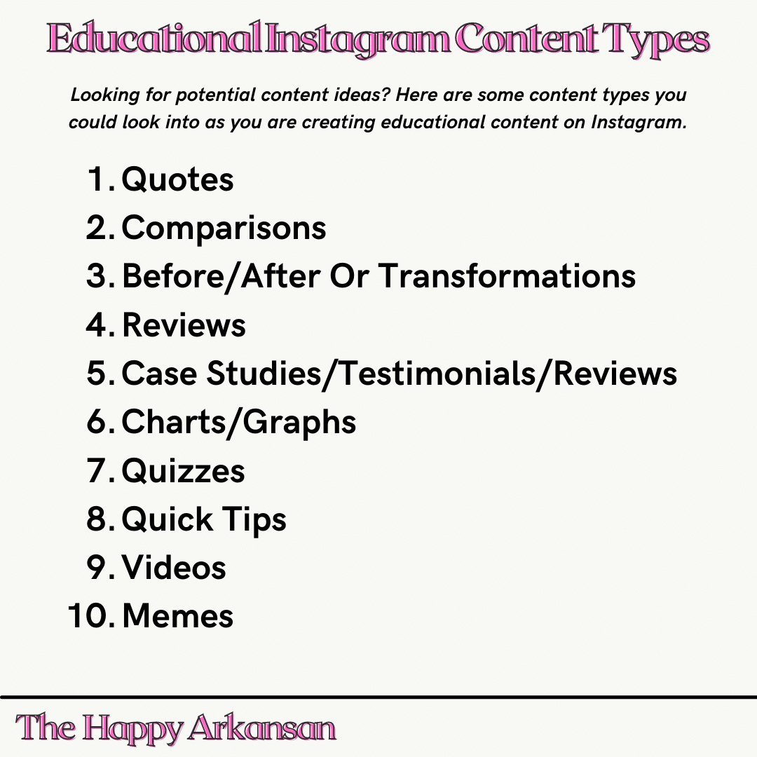 types-of-educational-content-for-instagram